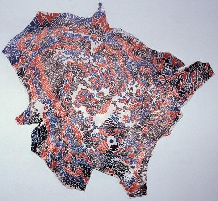 © Jièlbé. Peau dessinée. Expo Biz'art, 2001.